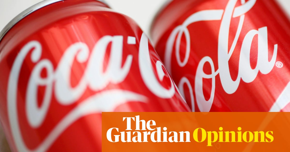 What Coca-Cola's slide down global brand rankings really