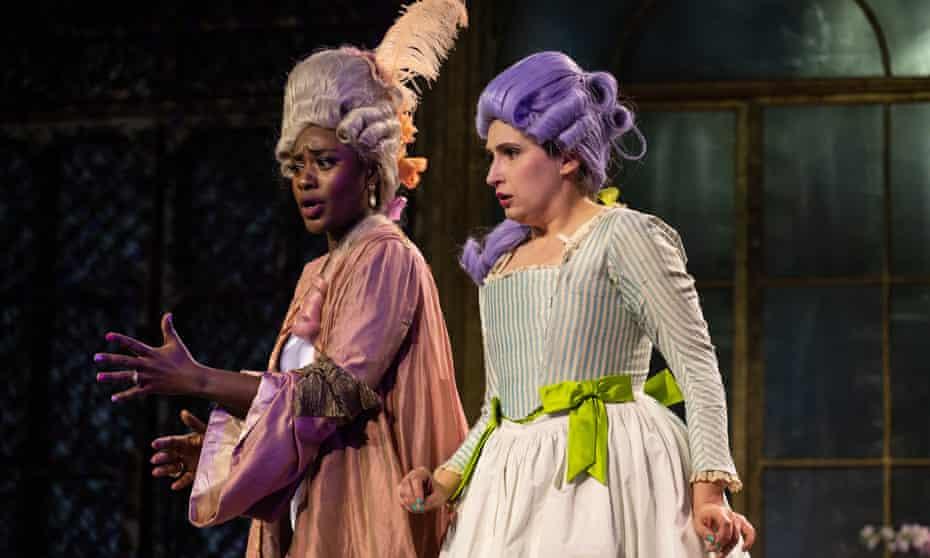 Opera Holland Park's The Marriage of Figaro stars Nardus Williams as Countess Almaviva and Elizabeth Karani as Susanna.
