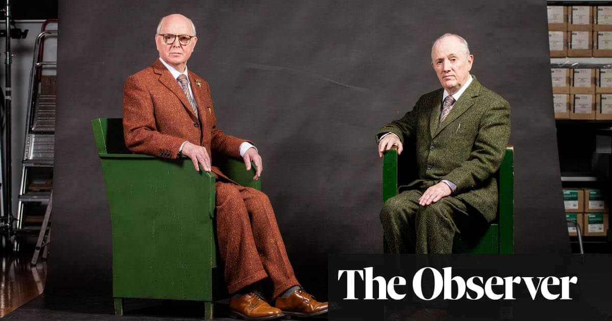 Gilbert and George quit Royal Academy over dashed hopes for major exhibition thumbnail