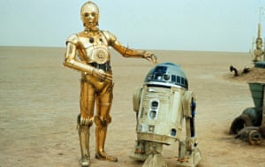 'As inseparable as Laurel and HardyR2-D2 with C-3PO in the original 1977 movie.