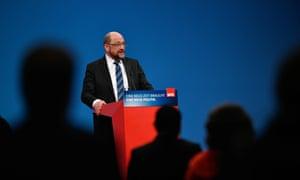 Martin Schulz, the SPD leader