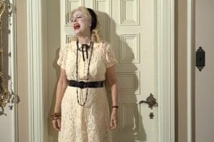 Susan Sarandon as Bette Davis in Feud: Bette and Joan