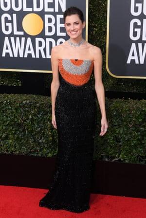 Allison Williams 75th Annual Golden Globe Awards, Arrivals, Los Angeles, USA - 07 Jan 2018