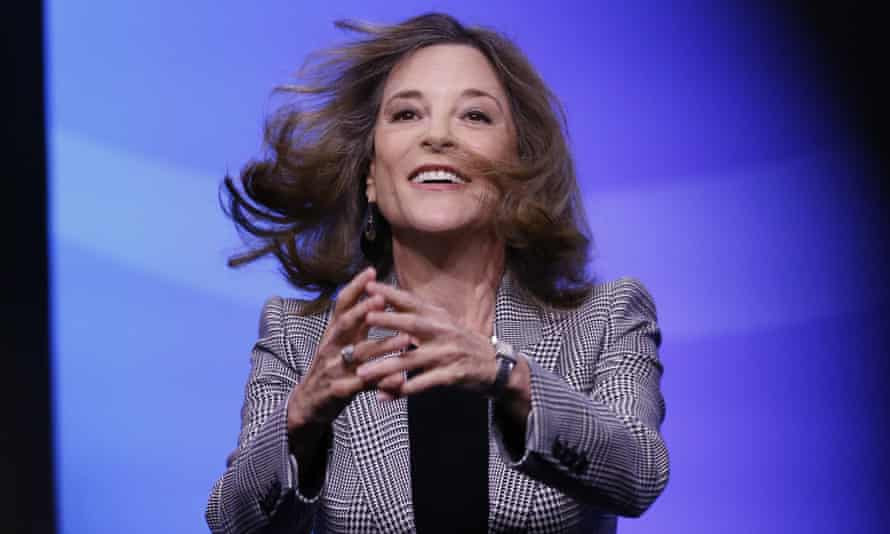 The former Democratic presidential candidate author Marianne Williamson will be one of the prominent names to feature at the virtual People's Convention.