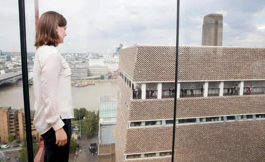 The Tate's former director has suggested that residents should install net curtains to ensure privacy.