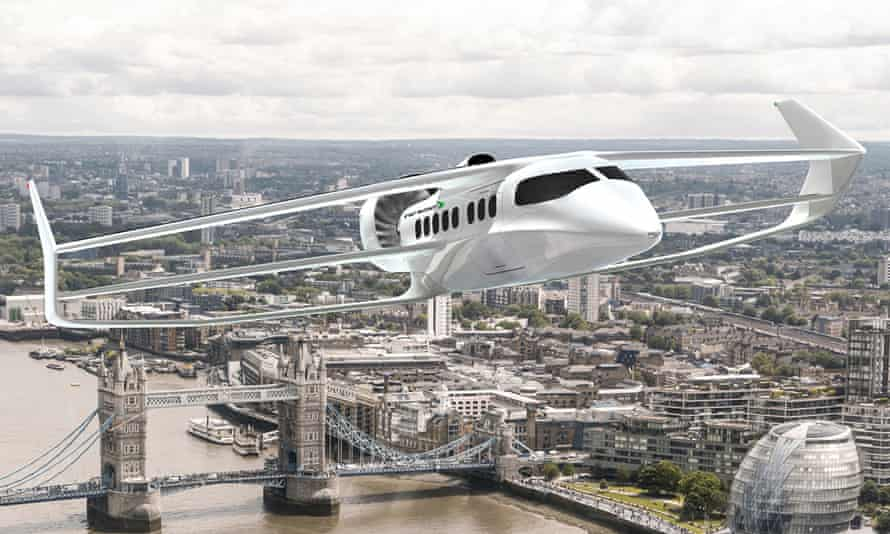 How the Beha might look flying over London