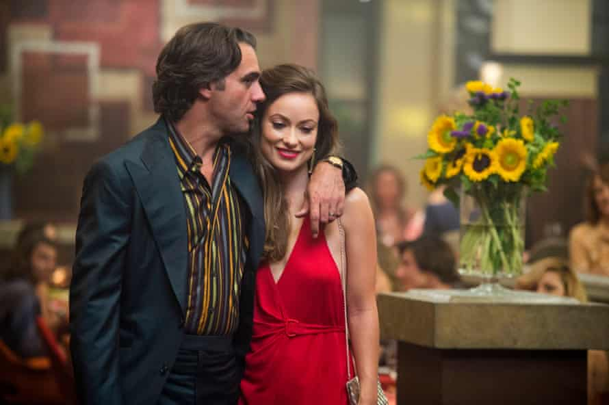 Bobby Cannavale and Olivia Wilde in Vinyl.