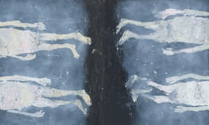 Detail from Oh Dear, Ma Tutto Occupato, by Georg Baselitz