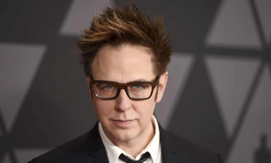 Unenviable task ... James Gunn pictured in 2017.