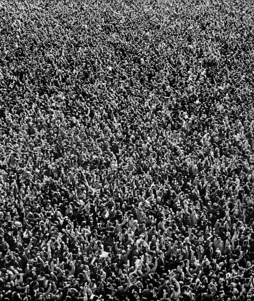 Anti-Shah demonstrations.