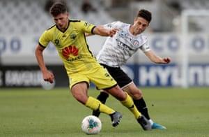 A-League, Wellington v Melbourne City