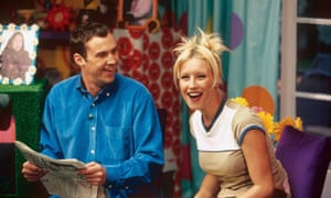 Time for a second helping! ... Johnny Vaughan and Denise Van Outen host The Big Breakfast.