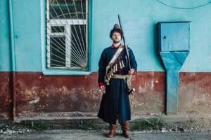 Igor, 37, 17th century, Muscovite musketeer