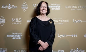 Lifetime Achievement award winner Claudia Roden at The Observer Food Awards 2019.