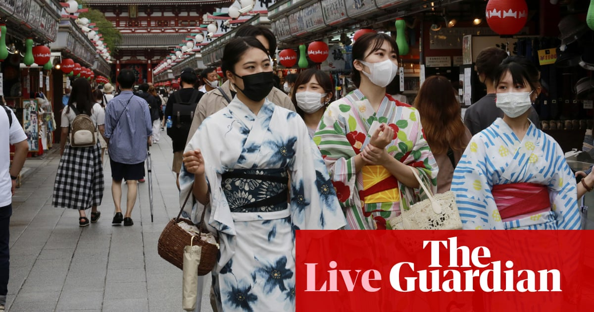 Coronavirus live news: Moderna withholds 1.6m vaccines in Japan over contamination concerns, Sydney hospitals struggle to cope