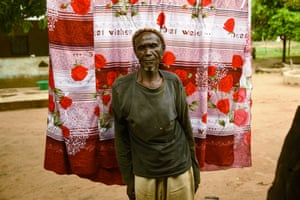 Lansana Tiana, a refugee from Senegal''s Casamance region who has made his home in Guinea-Bissau.