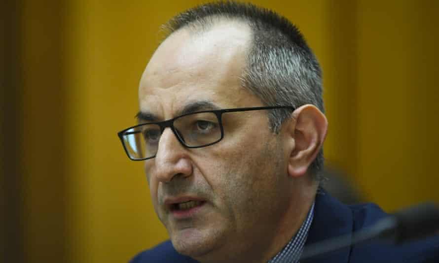 Home affairs head Mike Pezzullo