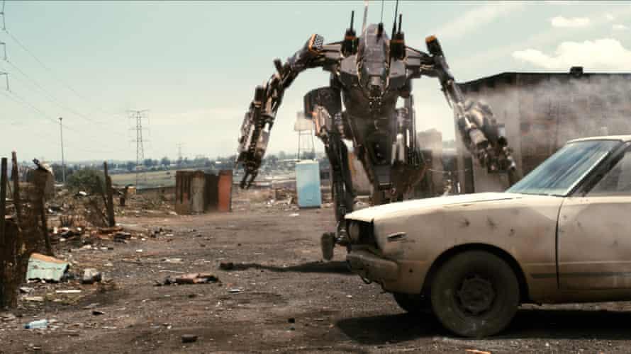 Sci-fi satire District 9.