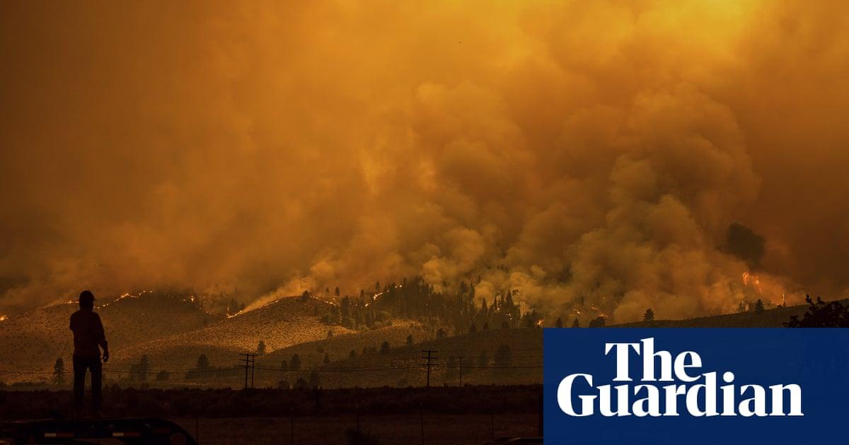 Sixty wildfires rage across 10 US states – including blaze bigger than Portland
