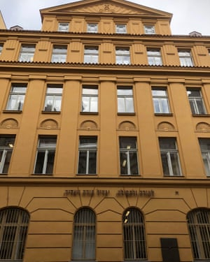 The former Jewish primary school in Prague where Schmolka rented rooms and worked from