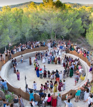 'Ibiza is a place where the most important people in the spiritual community come' ... Aniwa Gathering.