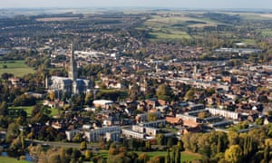 the Cathedral City of Salisbury