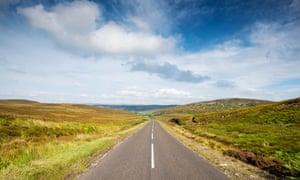 The A836, Scotland