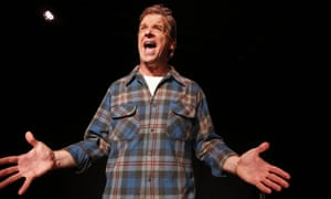 Sense of injustice … Donald Sage Mackay in Angry Alan.