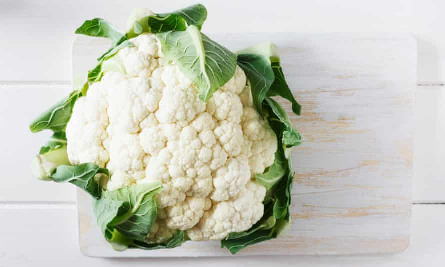 A cauliflower