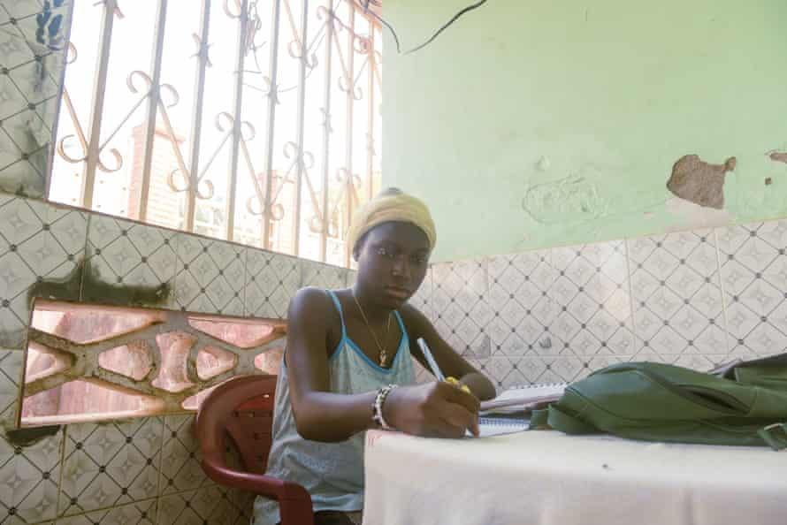 The Catchuras' eldest daughter, Melisiana, 13, studies at home