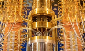 IBM's new 53-qubit quantum computer.