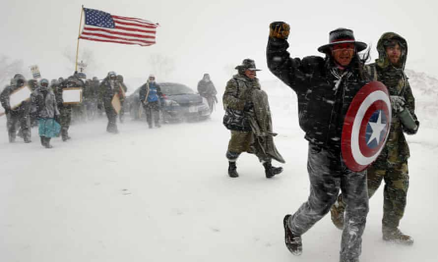 The protest at Standing Rock against the Dakota Access pipeline has drawn solidarity from around the world.