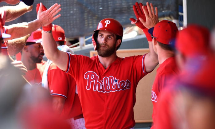 cdfed402615 MLB 2019 predictions  Harper to lead Phillies to World Series glory ...