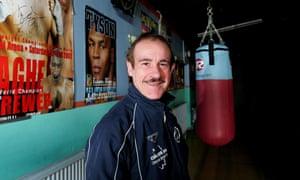 Enzo Calzaghe at his gym in Newbridge, Wales, 2007.