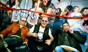 Michael Davis, right, with his MC5 bandmates.