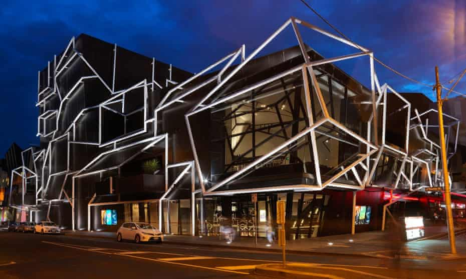 Melbourne Theatre Company's currently closed Southbank Theatre.