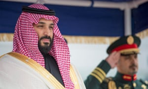 Saudi Arabia's defence minister and crown prince, Mohammed bin Salman
