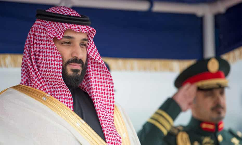 Saudi Arabia's defence minister and crown prince, Mohammed bin Salman