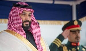 Saudi crown prince begins US trip as allies share concerns