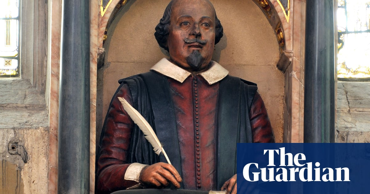 'Self-satisfied pork butcher': Shakespeare grave effigy believed to be definitive likeness