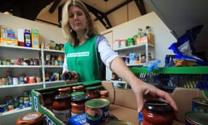 Foodbank volunteers are part of a vital spirit of community action.