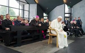 Pope Francis at Knock Shrine, County Mayo