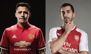 Alexis Sànchez has completed his move to Manchester United with Henrikh Mkhitaryan joining Arsenal.