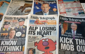 The Daily Telegraph's coverage of the 2013 federal election campaign was marked by a concerted campaign against the ALP.