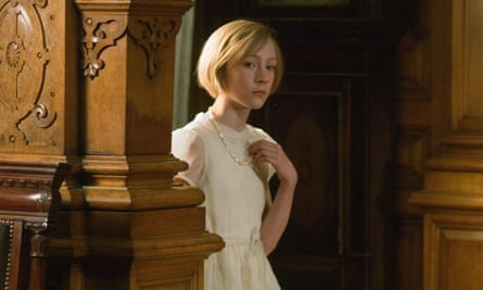 Saoirse Ronan as Briony in the 2007 adaptation of Atonement.