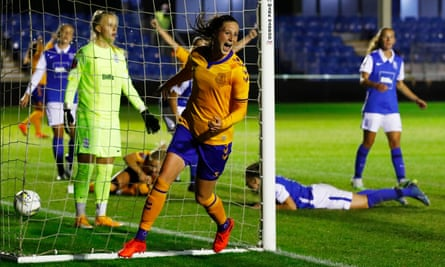 Everton Too Strong For Birmingham In Women S Fa Cup Semi Final Women S Fa Cup The Guardian
