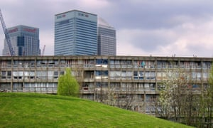 Oh look, there's some over there! … a handful of trees in London's Robin Hood Gardens.
