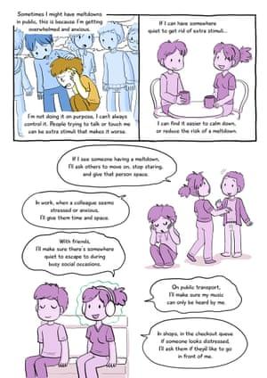 Understanding autism cartoon, part three.