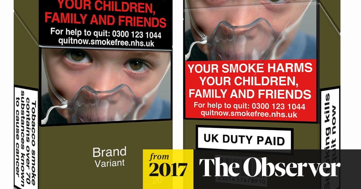 How tobacco firms flout UK law on plain packaging | Society | The
