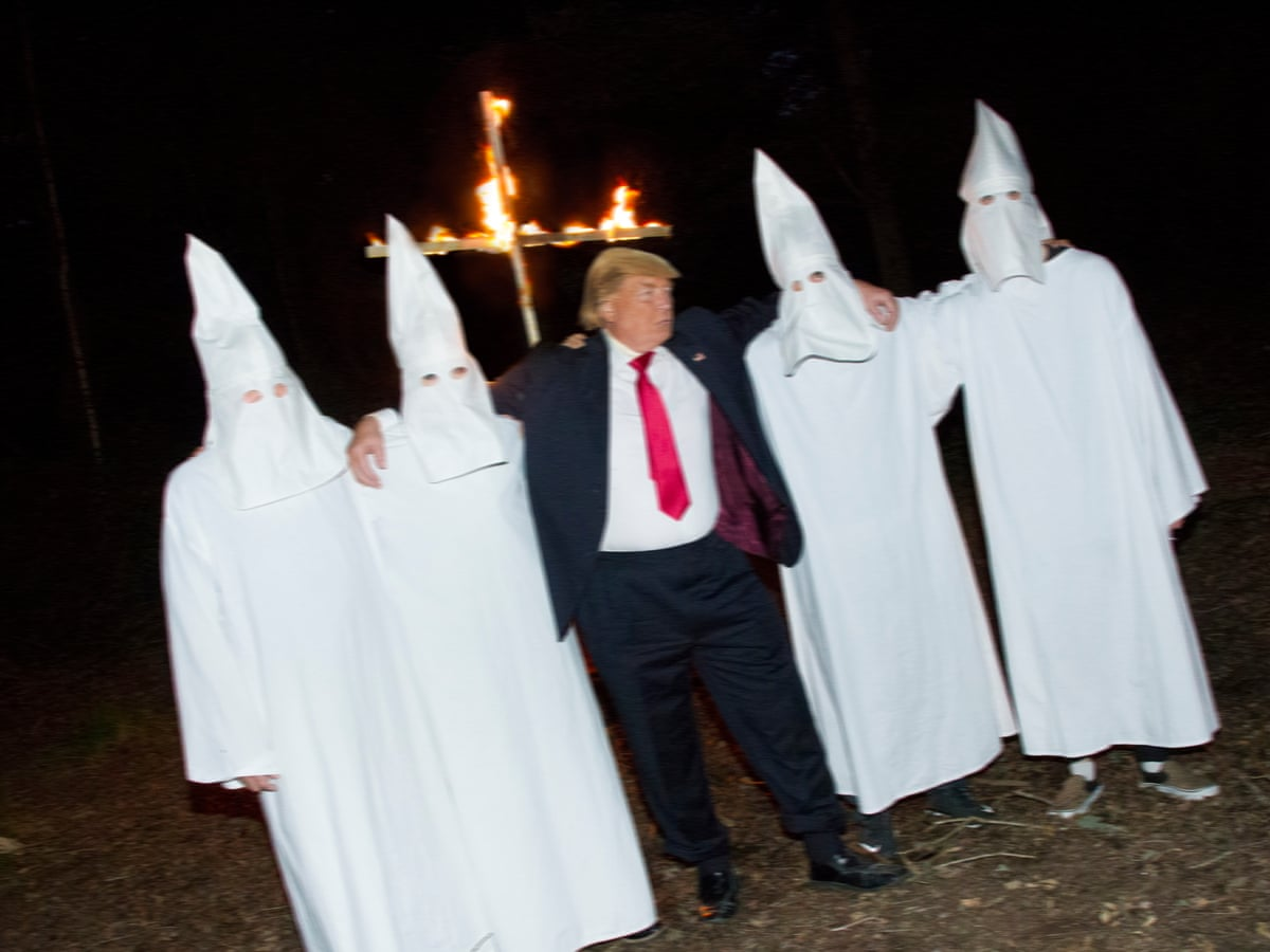Artist publishes spoof photos despite fear of being sued by Trump ...